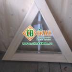 Окно ОСВ треугольное с фальшпереплётом СВ-ОКНА