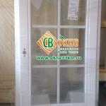 Деревянное окно ОСВ с покраской. Фальшпеперплёт 18 мм.